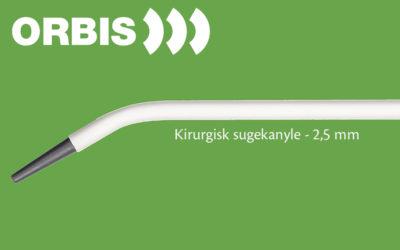 Ny kirurgisk sugekanyle fra Orbis