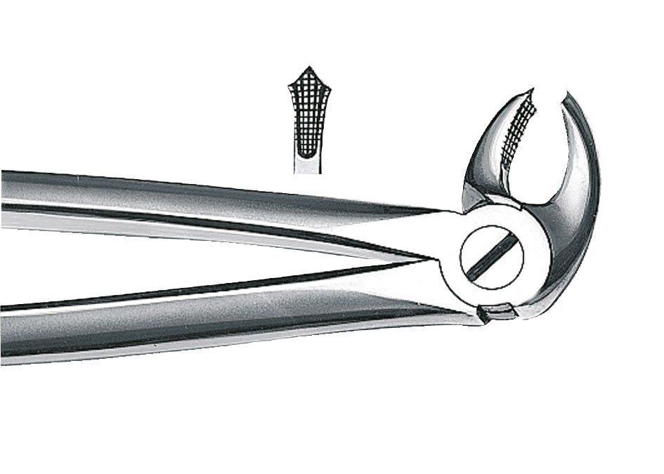 Orbis ekstraktionstang, 22, UK, molar h/v, 1stkKøb i webshopVarenummer 81245