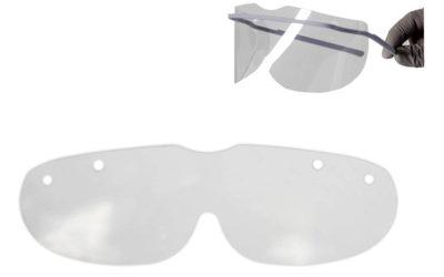 Orbis beskyttelsesskærm i klar plast